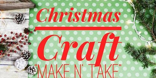 Christmas Make n' Take Event