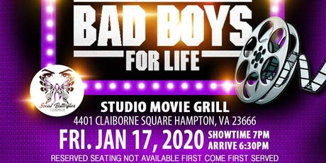 Social Butterflies Foundation's Private Viewing of Bad Boys for Life tickets