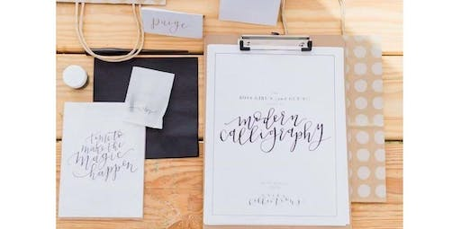 Modern Calligraphy for Beginners with Unika Collections (01-16-2020 starts at 6:00 PM)