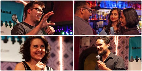 Spontaneous Storytelling and Free Drinks Night tickets