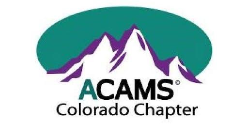 Regulators' Appreciation Night & ACAMS Colorado Chapter Fifth Anniversary