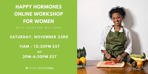 Happy Hormone Online Women's Workshop