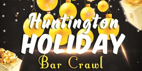 Huntington Holiday Bar Crawl 12/21/19 tickets