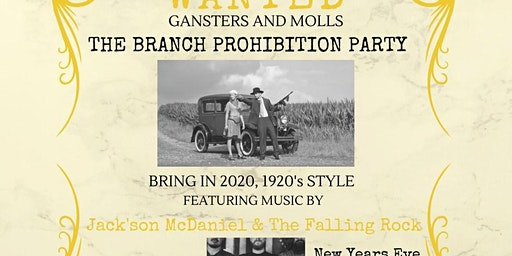 New Years Eve Prohibition Party