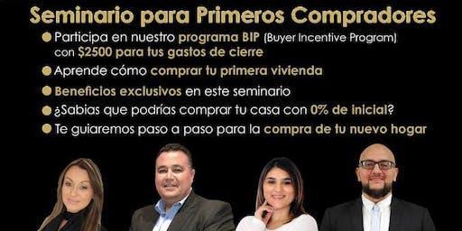 Copy of SEMINARIO PARA PRIMEROS COMPRADORES