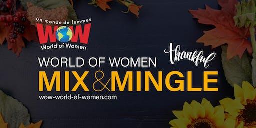 WOW Ottawa Mix & Mingle | Thankful