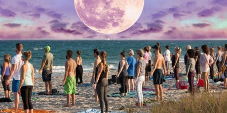Full Moon Beach Yoga Delray Beach December Edition tickets