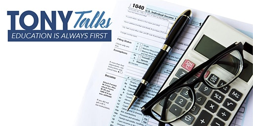 TONY Talks - TAX PLANNING for 2020