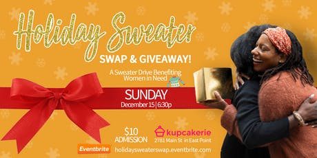 Holiday Sweater  Swap/Giveaway tickets