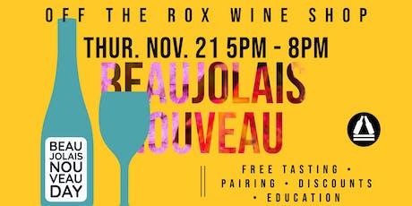 Beaujolais Nouveau Day (Wine Tasting) tickets