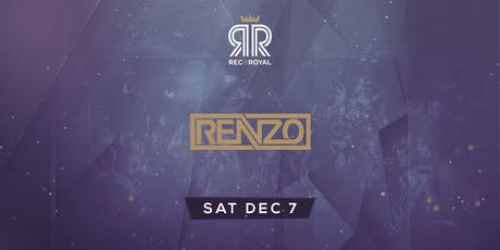 Social Saturday @ Rec & Royal  w/ Renzo tickets