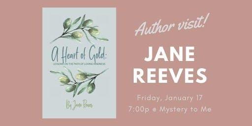 Author Visit: Jane Reeves