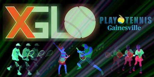 XGLOsive Glow In The Dark Tennis with Play Tennis Gainesville