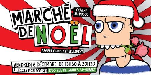 Marché de Noël au profit de la revitalisation de la cour d'école Mgr-Forget