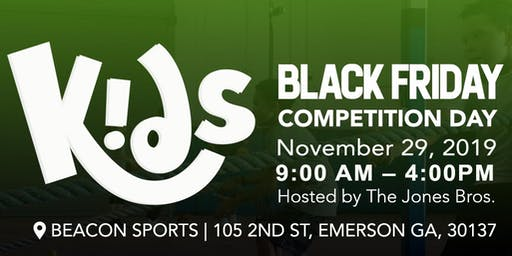 Black Friday - Competition day