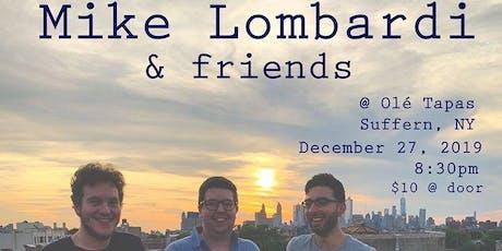 Mike Lombardi @ Tapas - Suffern, NY tickets