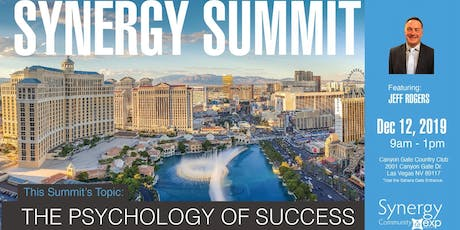 SYNERGY SUMMIT:  The Psychology of Success tickets