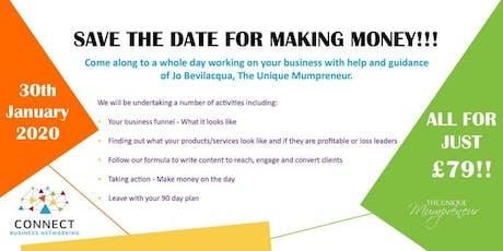 """TUM & Connect """"Making Money Workshop"""" tickets"""