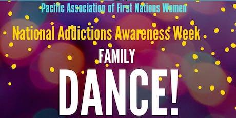National Addictions Awareness Week Family Dance tickets