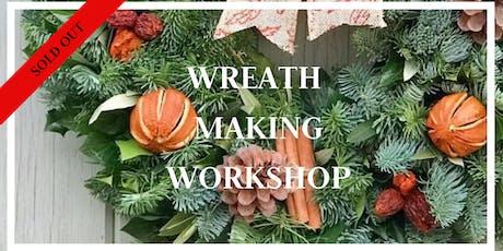 Wreath Making Workshop 28th Nov 2020 tickets