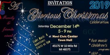 A Glorious Christmas Celebration 2019 tickets