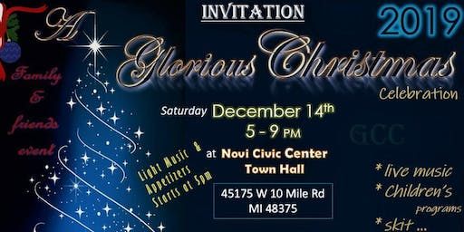 A Glorious Christmas Celebration 2019