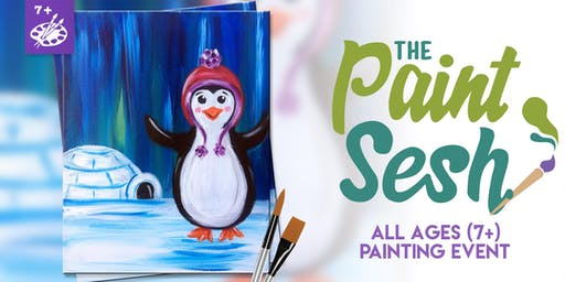 """All Ages Paint Night in Norco, CA: """"Tappy Feet"""" (7+)"""