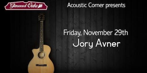 Acoustic Corner w/ JORY AVNER