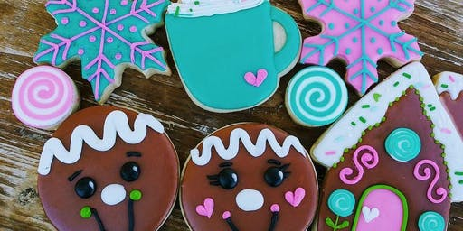 Winter Wonderland gingerbread