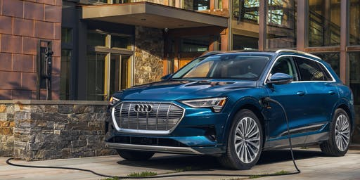Meet the Audi e-tron: a new era of electric.