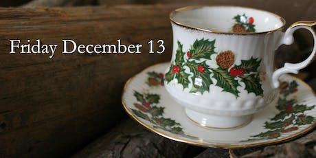 Fri Dec 13: Christmas Victorian Teas tickets