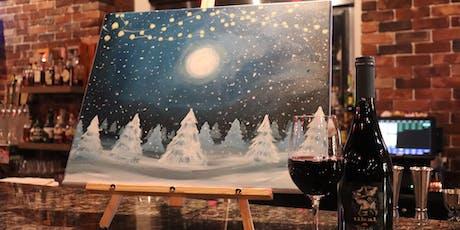 Winter Wonderland Paint & Sip tickets