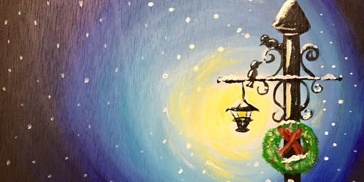Paint Night Lamplight  at a Change of Pace, Morriston