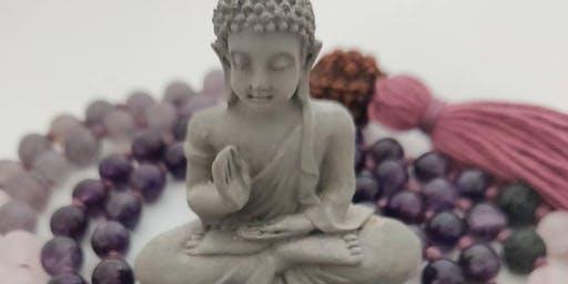 Hatha Yoga and 108 Bead Crystal Mala Making Workshop