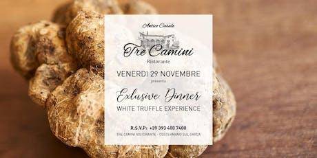 White Truffle Experience by Tre Camini biglietti