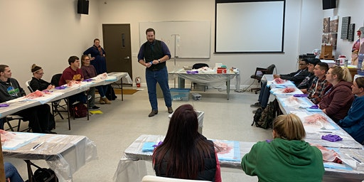 Winter/Spring 2020 Nationally Registered Emergency Medical Technician Course