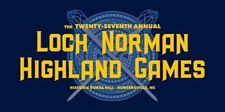2021 Loch Norman Highland Games tickets