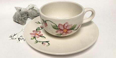 Tea Cup Glazing and Tea Tasting Workshop tickets