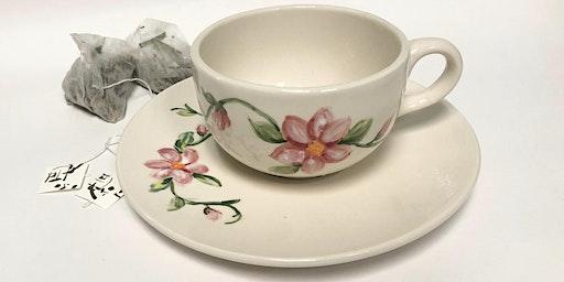 Tea Cup Glazing and Tea Tasting Workshop