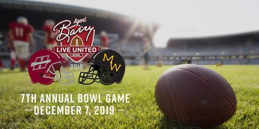 Agent Barry Live United Bowl 2019