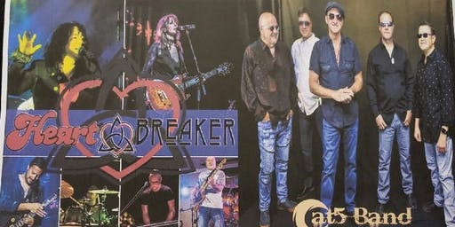 Winter Rock Blast 2020 featuring Heart Breaker with Award Winning Cat5 Band