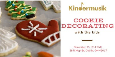 Kindermusik Holiday Cookie Decorating with the Kids