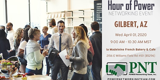 04/01/20 - PNT Gilbert - Hour of Power Networking Event