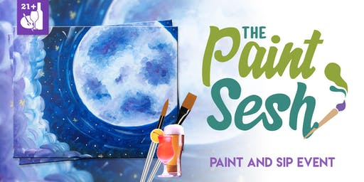 """Paint and Sip in Downtown Riverside, CA: """"Galaxy's Edge"""""""