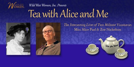 Tea with Alice and Me: Zoe Nicholson tickets