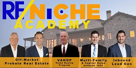 RE/NICHE Academy for today's Realtor tickets