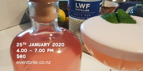 LWF Distilling - Rum education, canapés and create your own bottle tickets