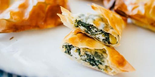 Spanakopita Workshop
