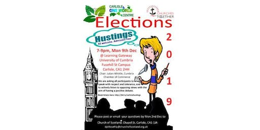 Carlisle General Election Hustings