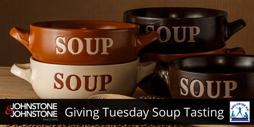 J & J Giving Tuesday Soup Tasting